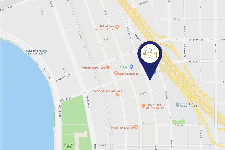 Little Italy San Diego Map.Vivo Little Italy San Diego Ca Texas Valley Holdings Inc